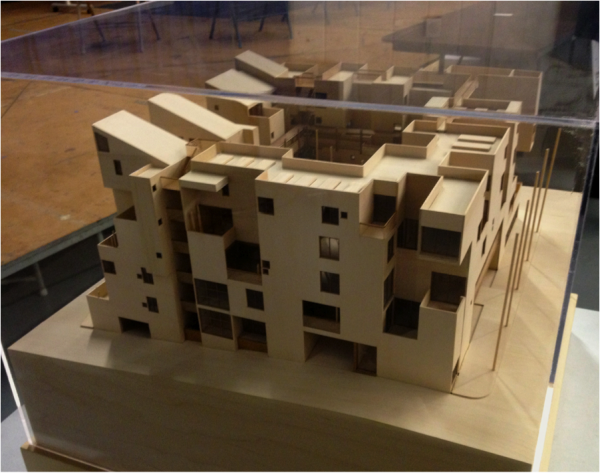 Image: A new eco-friendly apartment complex in Allston would ban cars.