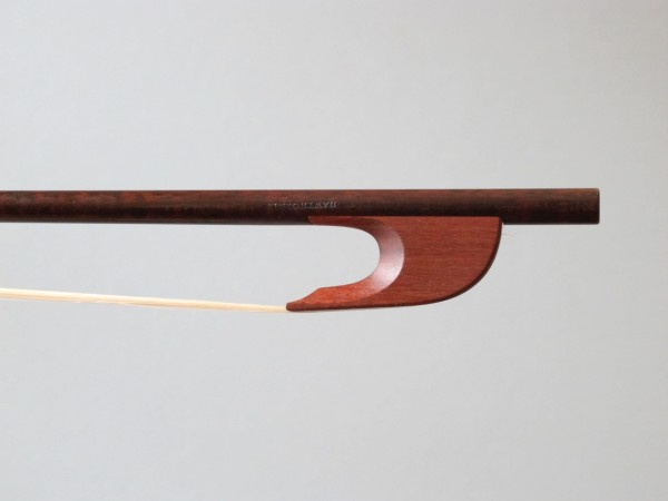 A Baroque-style bow by David Hawthorne. Photo courtesy of David Hawthorne.