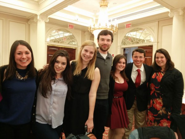 Staff of Boston University's independent Daily Free Press newspaper.