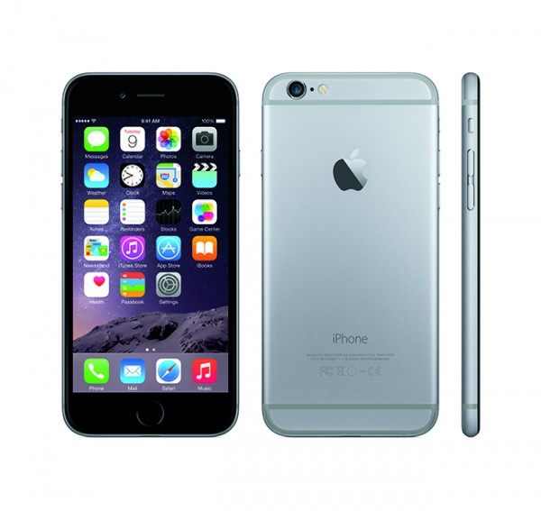 The iPhone 6 (Image courtesy of Apple)
