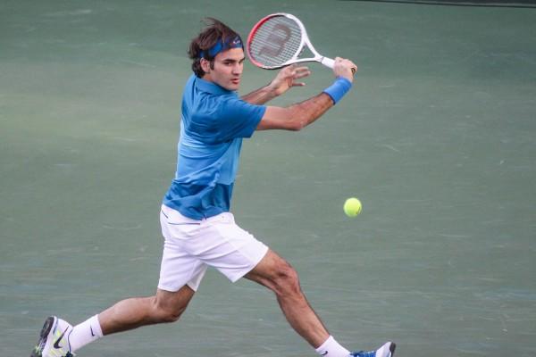 Roger Federer at the BNP Paribas 2012 Open. (Mike McCune/flickr)