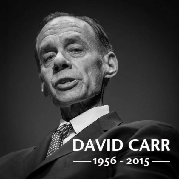 David Carr: 1956-2015