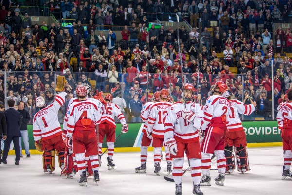 The BU Terriers season ended Saturday night with a 4-3 loss to Providence in the NCAA championship game.