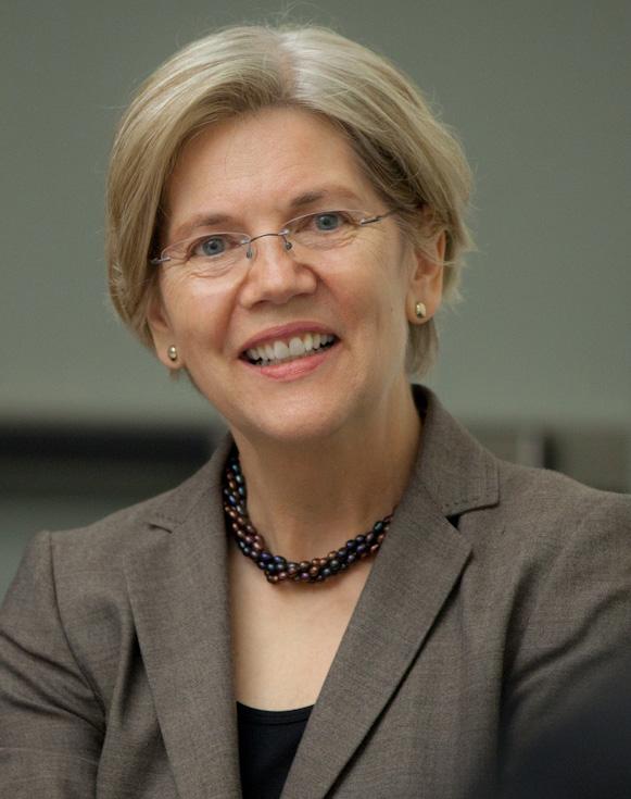 IMAGE: Senator Elizabeth Warren, D-Mass. (Photo: Wikimedia Commons)