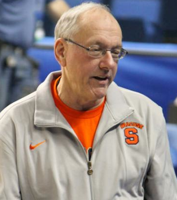 Syracuse's Jim Boeheim is not pleased as his team has lost three of its last four games.