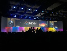 Samsung's SUHD TV at CES 2015 press conference